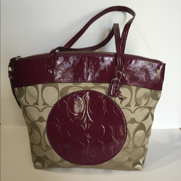 Coach Handbags - Coach Laura Signature Tote NWT